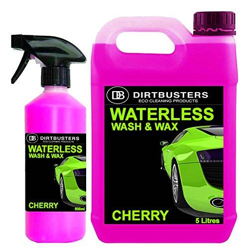 dirtbusters-waterless-car-wash-wax-autopfelegemittel-reiniger-zum-waschen-und-wachsen-kirschduft-5-l