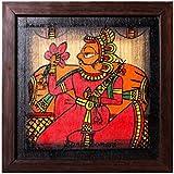 CraftedIndia Rajasthani Maharaja Phad Painting For Home Decor
