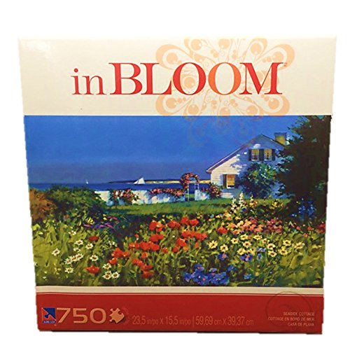 In Bloom Seaside Cottage 750 Piece Sure-Lox Jigsaw Puzzle - 1