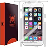 """Skinomi® TechSkin Easy Install - Apple iPhone 6 4.7"""" Full Body Skin Protector with Free Lifetime Replacement Warranty / Front & Back Premium HD Clear Film / Ultra High Definition Invisible and Anti-Bubble Crystal Shield - Retail Packaging"""