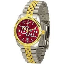 "Massachusetts Minutemen NCAA AnoChrome ""Executive"" Mens Watch"