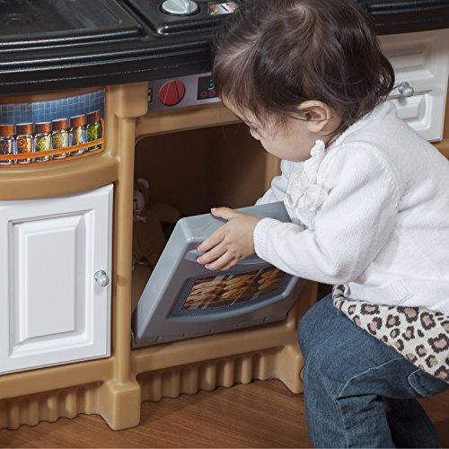Step 2 Toy Food : Step kitchen playset kids cooking food toddler pretend