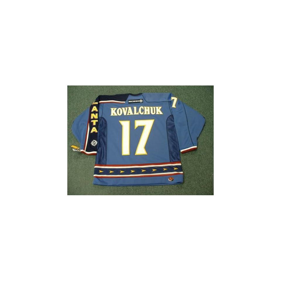 82dc5ada8ec ILYA KOVALCHUK Atlanta Thrashers 2003 CCM Throwback Alternate Home NHL  Hockey Jersey