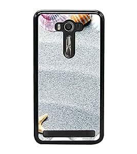Sea Shells 2D Hard Polycarbonate Designer Back Case Cover for Asus Zenfone 2 Laser ZE500KL (5 INCHES)