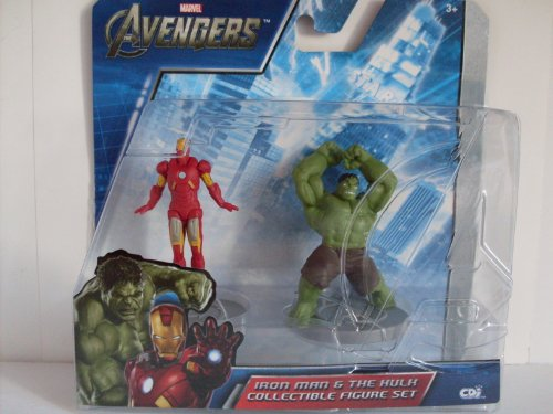Marvel Avengers - Iron Man & Incredible Hulk 2-Pack Collectible Figure Set