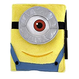 Despicable Me Minion Mayhem - Plush Minion Blank Notebook, Journal, Diary, with Pencil