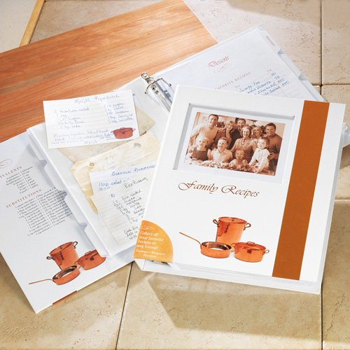 Family Recipe Book and Organizer