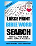 Large Print Bible Word Search Volume...