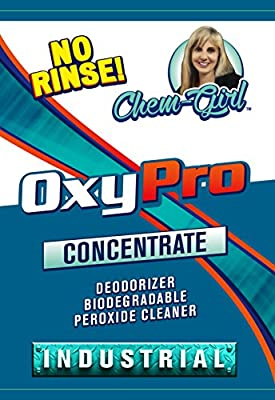 OXY-PRO- Concentrated Peroxide Cleaner, Instant Spot & Stain Remover, No Rinse, Fragrance Free - 32 Oz