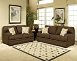 3pc Traditional Modern Fabric Sleeper Sofa Set, CO-AMB-S2
