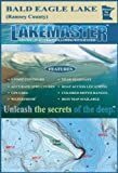 Lakemaster LPMNBEP12-02 Paper Map Bald Eagle (Ramsey)