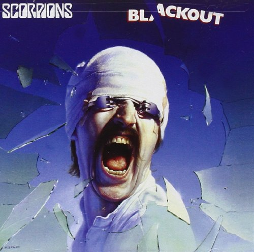 Original album cover of Blackout by Scorpions