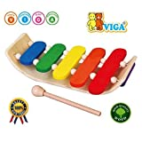 Viga Wooden Curved Xylophone #58771