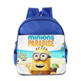 Kids Minions School Backpack Cute Baby Boys Girls School Bags