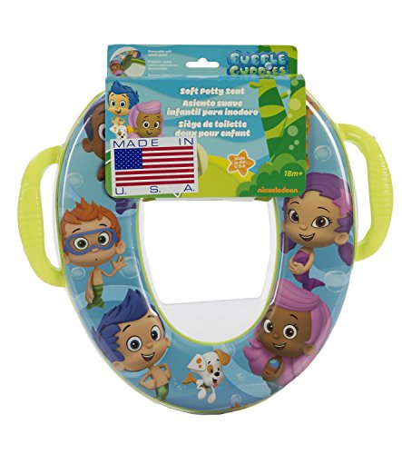 Nickelodeon Bubble Guppies Soft Potty Seat With Handles