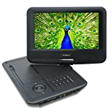 SYNAGY A19 9inch Portable DVD Player CD Player, Black