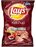 Canadian Lays Ketchup Flavour Chips [3 Large Bags]