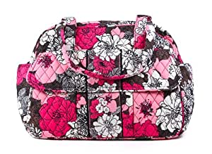 Vera Bradley Baby Bag in Mocha Rouge