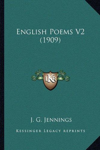 English Poems V2 (1909)