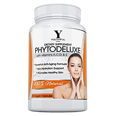 Best Cheap Deal for Youthful Look Phytoceramides - Drop a Decade From Your Face - 350 mg Plant Derived Pills - 30 Capsules by Youthful Look - Free 2 Day Shipping Available