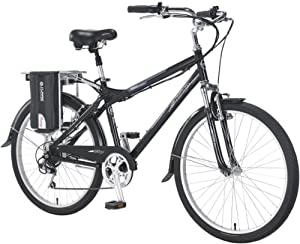 Currie Technologies Men's eZip Trailz Commuter Lithium Electric Bicycle, Black, 17-Inch