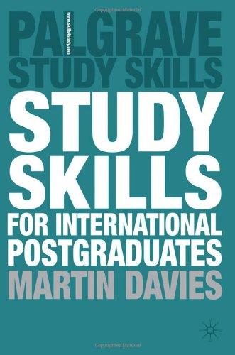 Study Skills For International Postgraduates (Palgrave Study Skills) front-113201