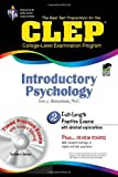 img - for CLEP: Introductory Psychology, TestWare Edition (Book & CD-ROM) book / textbook / text book