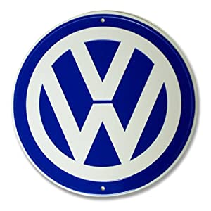 VW Logo Garage Sign from VW