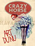 CRAZY HORSE Paris France Moulin Rouge Vintage Art Print Poster Pinup Girl 18X24