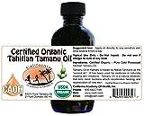 Tamanu Oil - 100% Pure Certified Organic Tahitian Tamanu (Kamani Oil) from CAOH® (1 - 2 oz Bottle)