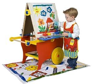 ALEX Toys - Artist Studio, Super Rolling Art Center With Paper Roll, 721X