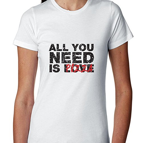 all-you-need-is-pizza-love-funny-food-exclusive-quality-t-shirt-for-damen-xs-shirt