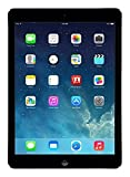 Apple iPad Air MD785LL B 9.7-Inch 16GB Wi-Fi Tablet (Black with Space Gray)