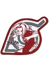 Naruto: Sakura Red Leaf Village Logo Anime Patch