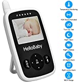 Best-Video-Baby-Monitor-Hellobaby-Security-Digital-Baby-Videos-Camera-with-Night-Vision-Temperature-Monitoring-2-Way-Talk-Talkback-System-White