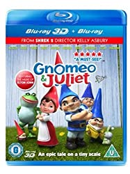Gnomeo & Juliet  (Blu-ray 3D + Blu-ray)