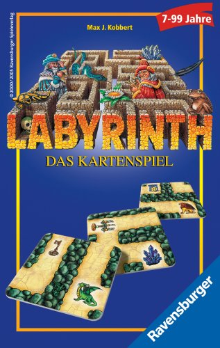 Ravensburger 23206 - Labyrinth - Card Game - Language: German
