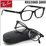 【レイバン国内正規品販売認定店!】レイバン(Ray-Ban RayBan) メガネフレーム 限定モデル RX5306D 2000 53