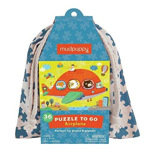 Mudpuppy Airplane to Go Puzzle (36 Piece) - 1