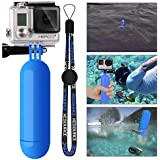 XCSOURCE® Monopod Diving Floaty Floating Hand Grip Handle + Screw + Wrist Strap Accessory Float For Gopro Hero 2 3 3+ (Blue)