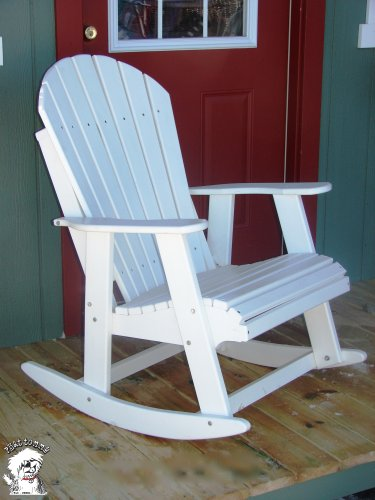 what is the price for phat tommy poly adirondack patio rocking chair alpine white winiewskaoia. Black Bedroom Furniture Sets. Home Design Ideas