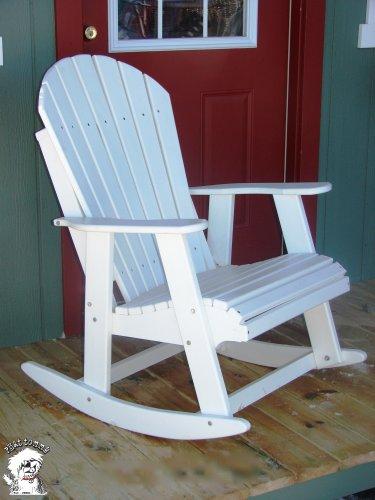 adirondack patio rocking chair alpine white you will get price price