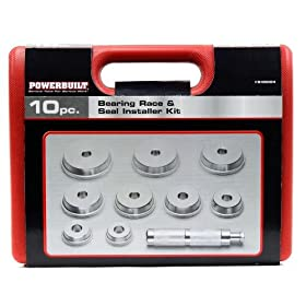Alltrade 948004 Bearing Race and Seal Installer Kit - 10 Piece