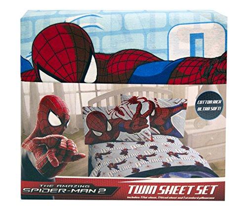 The Amazing Spiderman 2 Twin Sheet Set