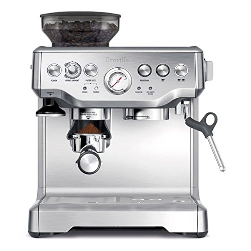 Breville BES870XL Barista Express Espresso Machine, 15.8 inches high x 13.2 inches wide x 12.5 inches deep