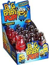 Big Baby Pop Schleckpulver mit Lutscher Minions, 12er Pack (12 x 32g)