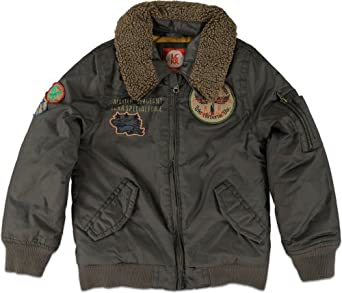 Boy's Heavyweight MA-1 Flight Jacket. This Heavy Weight MA-1 FLight Jacket is designed for maximum heat retention while still feeling light, comfy and of course fashionable.