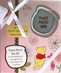 Winnie the Pooh Photo Album Box Set in Pink