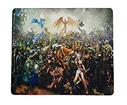 ANKGLEAS Soft Gaming Mouse Pad Mat finish 3mm thickness Medium size 29cm x 25 cm Non-slip Rubber base