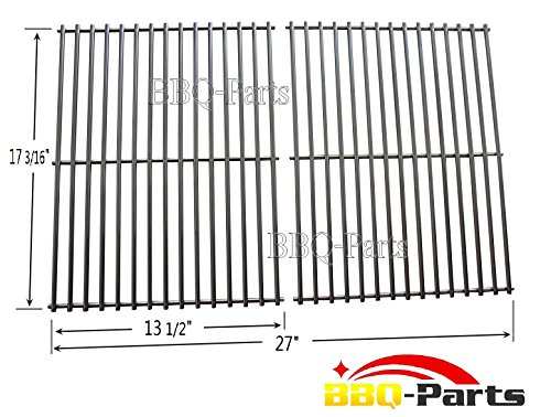 bbq-parts SCI812 stainless steel Rod Cooking Grid/Cooking Grates Replacement for Brinkmann, Grill Master, Nexgrill and Uniflame Gas Grills, Set of 2